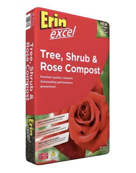 Erin Excel Tree, Shrub & Rose Compost 50 litres