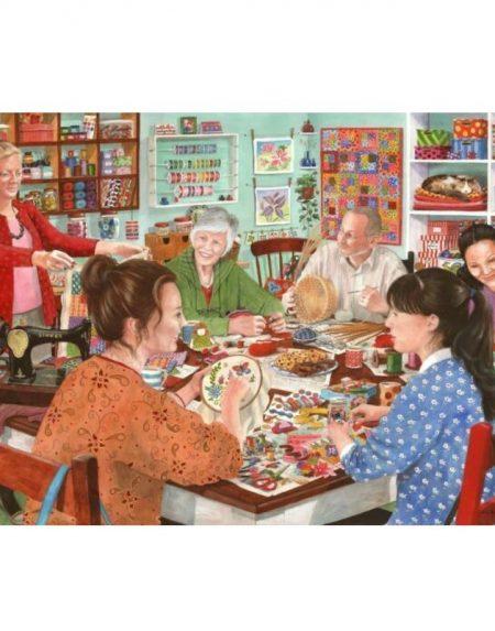 House of Puzzles Crafty Corner Jigsaw