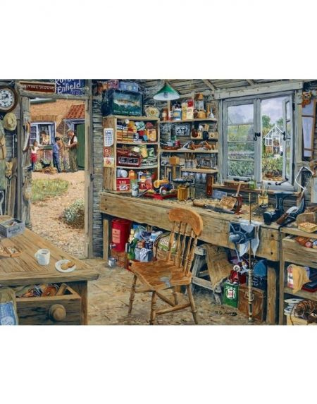 House of Puzzles Dad's Shed Jigsaw