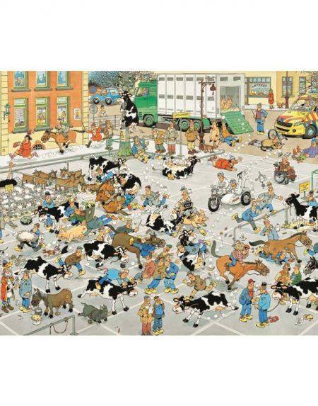 Jan van Haasteren The Cattle Market Jigsaw