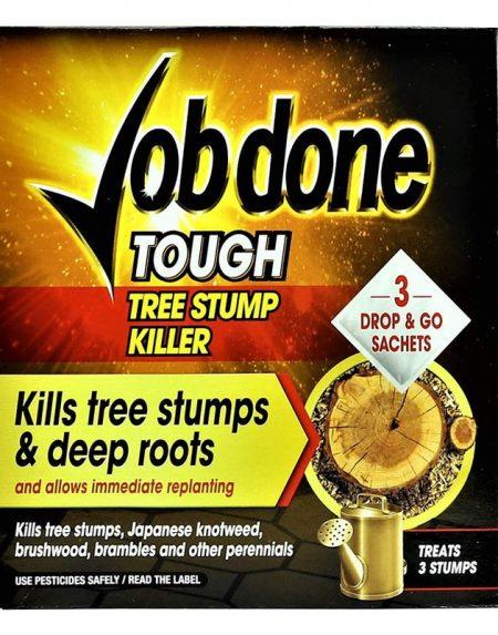Job Done Tough Tree Stump Killer Sachets 3 packs
