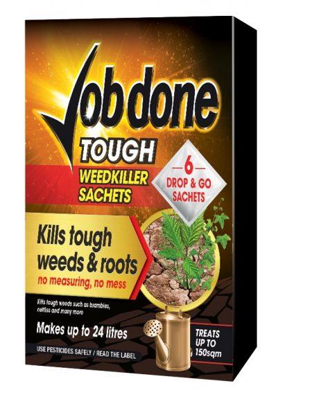 Job Done Tough Weedkiller 6 Sachets