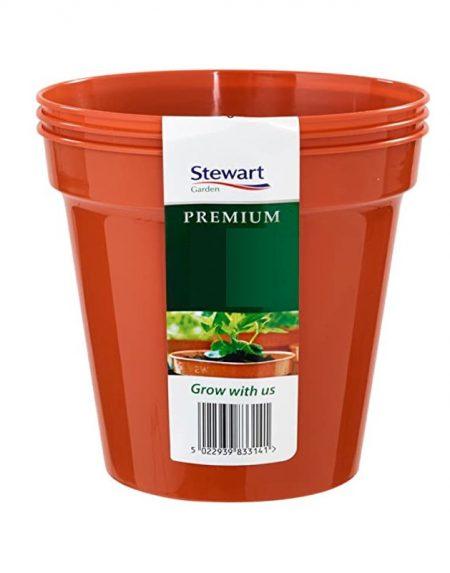 Stewarts Brown Premium Flowerpots
