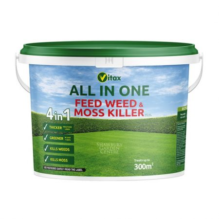 Vitax All In One Feed Weed & Moss Killer 9.6kg