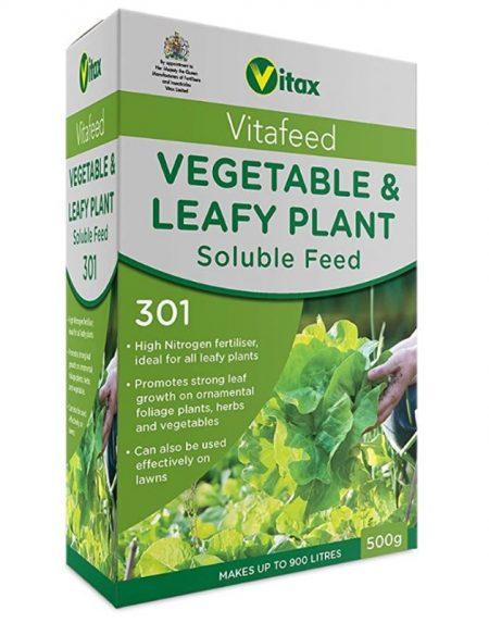Vitax Vegetable & Leafy Vitafeed 301 - 500g
