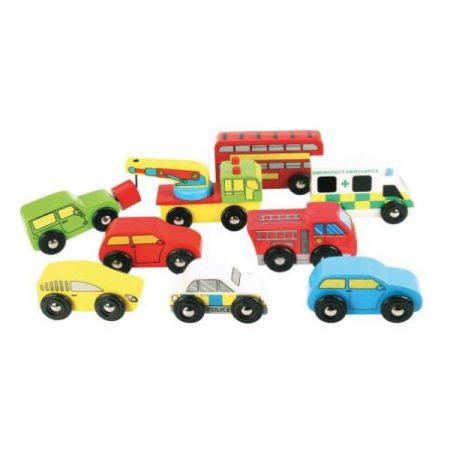 Bigjigs Vehicles pack 1