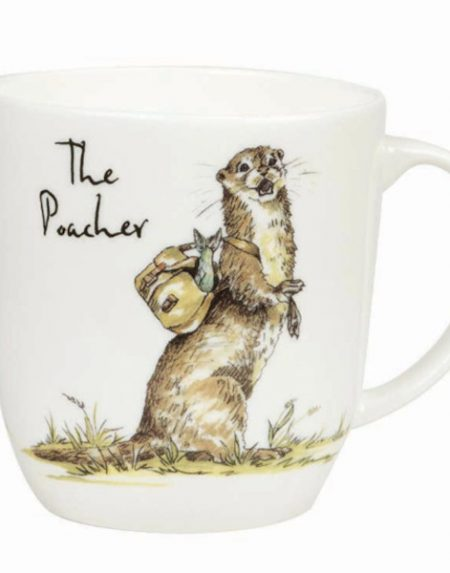 Churchill Country Pursuits The Poacher Olive Mug