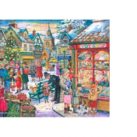 House of Puzzles Christmas Collectors Edition No.10 - Window Shopping