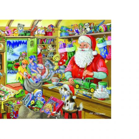 House of Puzzles Christmas Collectors Edition No.5 - Santa's Workshop