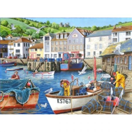 House of Puzzles Find The Difference Collection No.12 - Busy Harbour