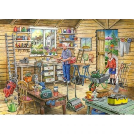 House of Puzzles Find The Difference Collection No.14 - Fred's Shed