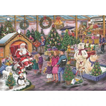 House of Puzzles Find The Difference Collection No.17 - Deck The Halls