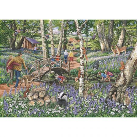 House of Puzzles Find The Difference Collection No.18 - Walk in the Woods
