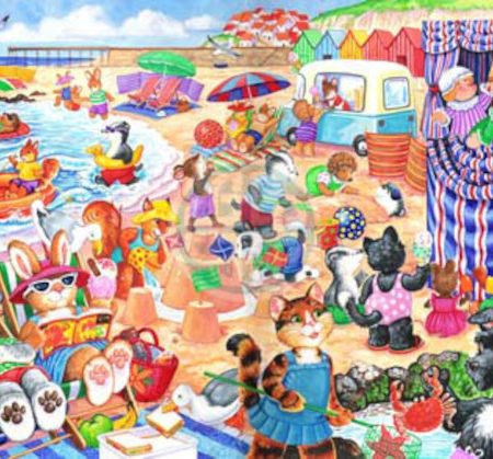 House of Puzzles KidzJigz 80 Collection At The Seaside