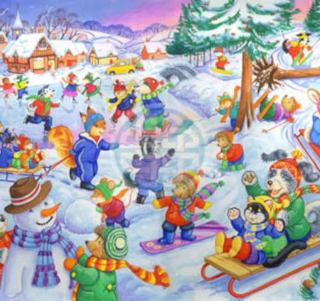 House of Puzzles KidzJigz 80 Collection Fun In The Snow