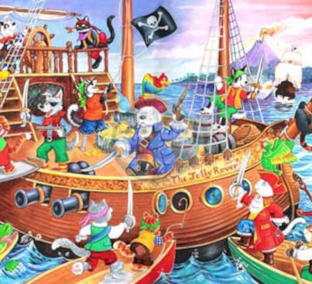 House of Puzzles KidzJigz 80 Collection Pirates Ahoy