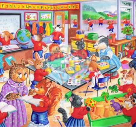 House of Puzzles KidzJigz 80 Collection School Days