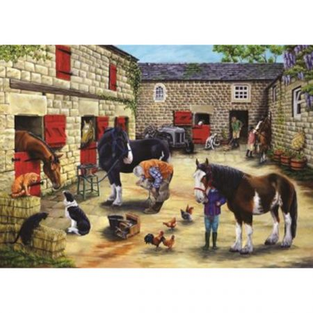 House of Puzzles The Avon Collection Farrier's Visit