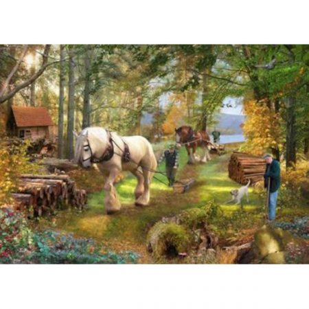 House of Puzzles The Avon Collection Horse Power
