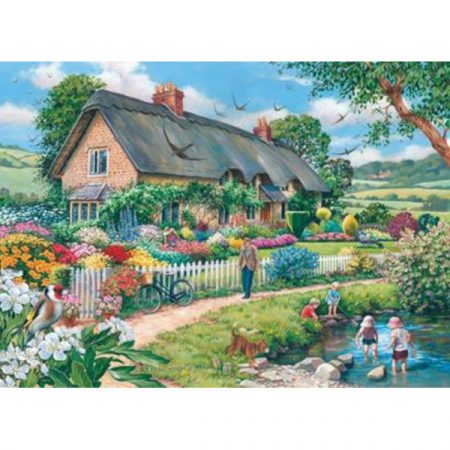 House of Puzzles The Avon Collection Lazy Days
