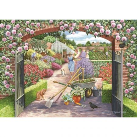 House of Puzzles The Lynvale Collection Walled Garden