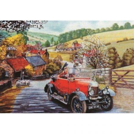 JHG Bullnose Morris Car 1000 piece jigsaw puzzle