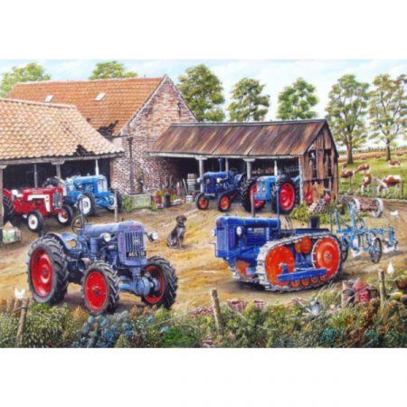 JHG Farmyard Fords 1000 Piece Jigsaw Puzzle