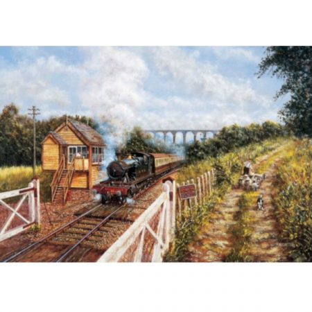 JHG Leaving Coombe Junction 1000 piece jigsaw puzzle