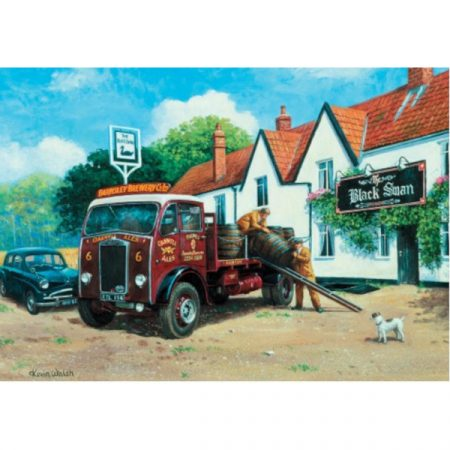 JHG Local Deliveries 1000 piece jigsaw puzzle