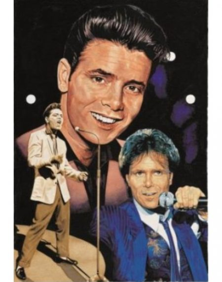 JHG The Young One Cliff Richard 1000 piece jigsaw puzzle