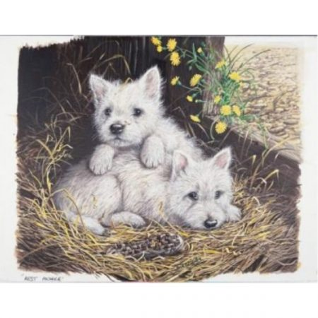 JHG West Highland Whites dogs 1000 piece jigsaw puzzle