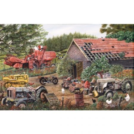 JHG Working Days Over 1000 piece jigsaw puzzle
