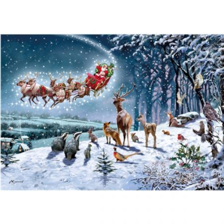Otter House 500 Piece Jigsaw - Magical Christmas
