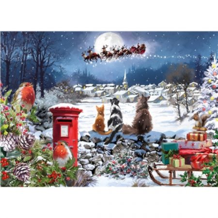 Otter House JIGSAW RECTANGULAR - CHRISTMAS DELIVERY