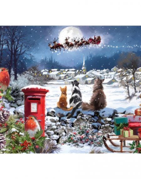 Otter House JIGSAW RECTANGULAR - CHRISTMAS DELIVERY