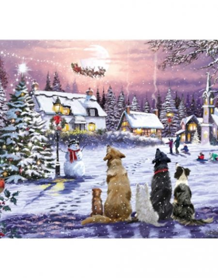 Otter House JIGSAW RECTANGULAR - CHRISTMAS EVE