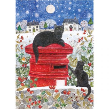 Otter House JIGSAW RECTANGULAR - CHRISTMAS POST
