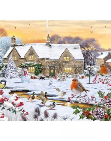 Otter House JIGSAW RECTANGULAR - COUNTRY GARDEN
