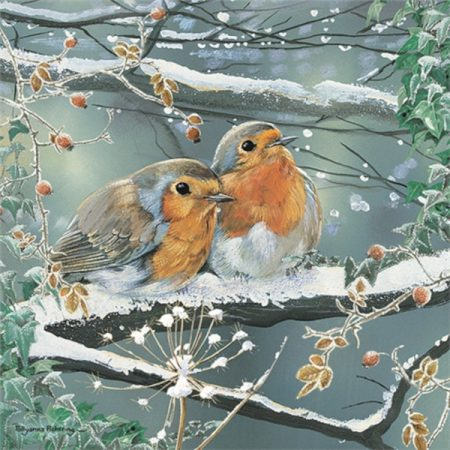 Otter House JIGSAW SQUARE - FROSTY FRIENDS