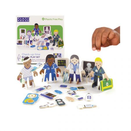 Playpress Check-up Time Character Set
