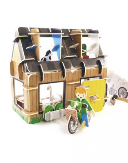 Playpress Eco House Playset