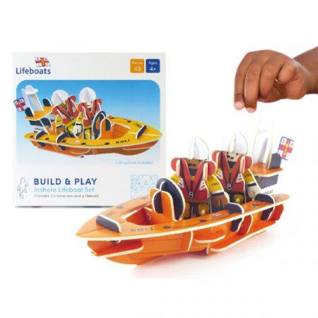 Playpress RNLI On shore Lifeboat Playset