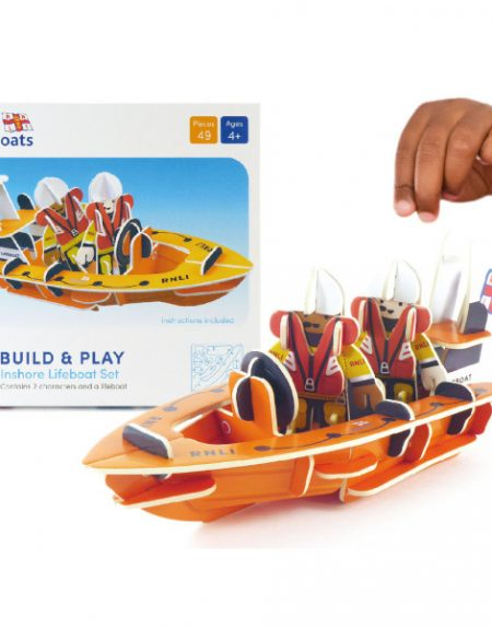 Playpress RNLI On shore Lifeboat Playset