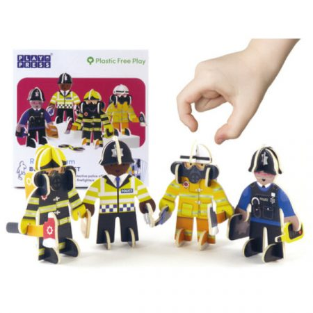 Playpress Rescue Team Character Set