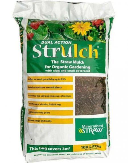 Strulch mulch