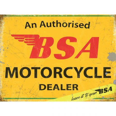 The Original Metal Sign Company BSA Authorised Dealer