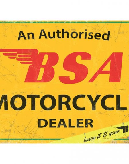 The Original Metal Sign Company BSA Authorised Dealer