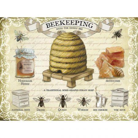 The Original Metal Sign Company Beekeeping