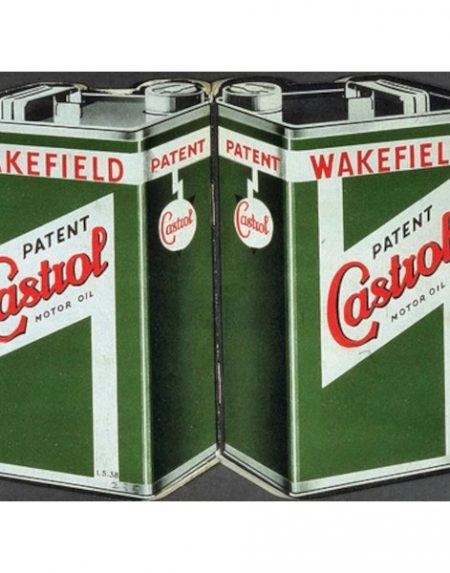 The Original Metal Sign Company Castrol Motor Oil