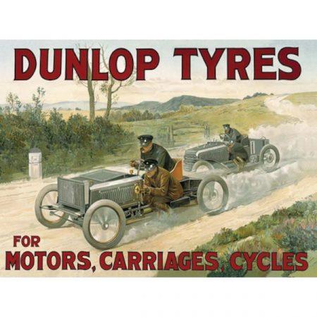 The Original Metal Sign Company Dunlop tyres